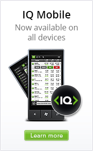 IQ Mobile - now available on all devices