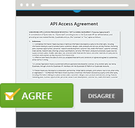 API access agreement
