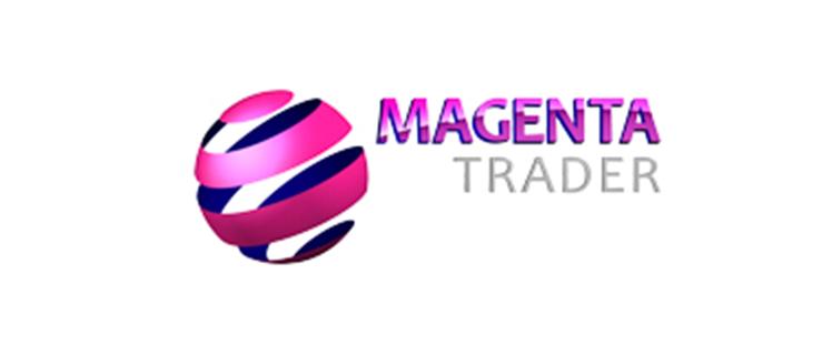 magenta trader logo